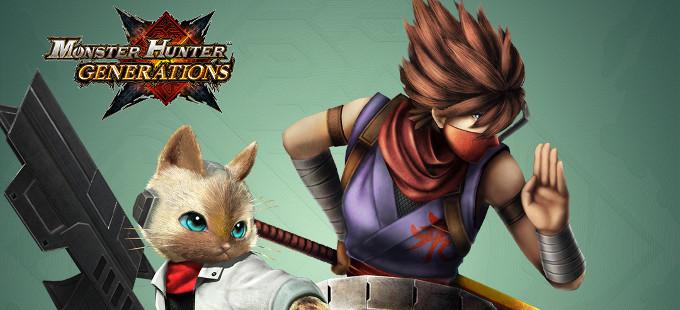 Mira el DLC para Monster Hunter Generations en septiembre