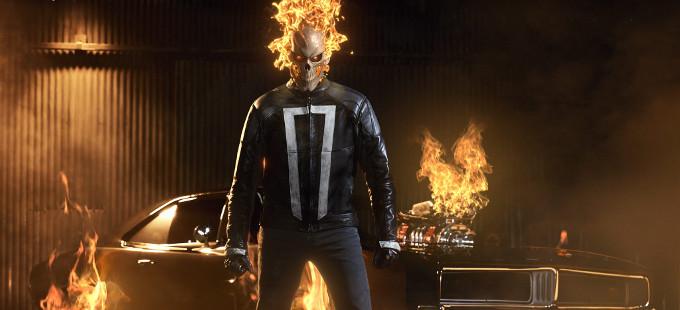 Un adelanto de Ghost Rider en Agents of S.H.I.E.L.D.