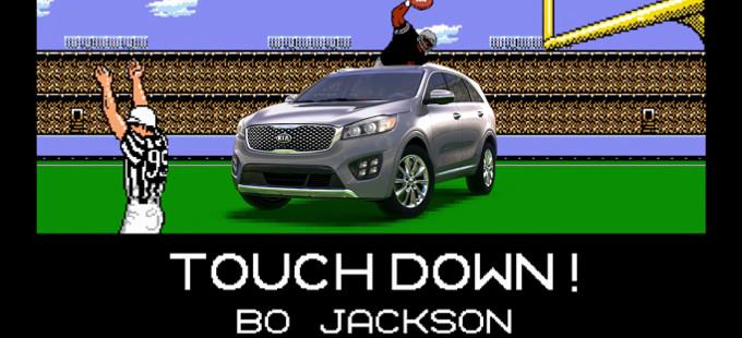 Tecmo Bowl regresa en un comercial con Bo Jackson