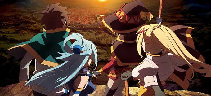 La segunda temporada de KonoSuba tiene fecha
