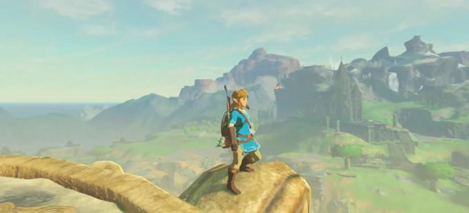The Legend of Zelda: Breath of the Wild multiplicado por cuatro