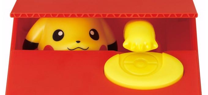 Mira la nueva Itazura Bank: Pikachu de Pokémon