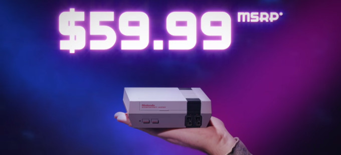 ¿Casi 2,000 pesos el NES Classic Edition en México?