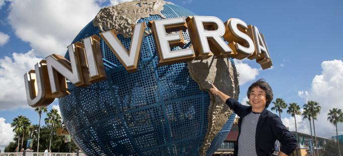 Shigeru Miyamoto y Mark Woodbury hablan acerca de las atracciones de Nintendo que habrá en parques de diversiones de Universal Studios.