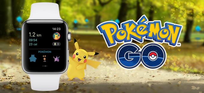 Pokémon GO para Apple Watch ya disponible
