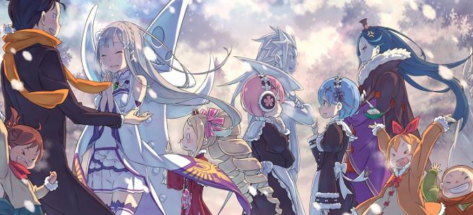 Re:Zero es el anime más visto en Crunchyroll del 2016