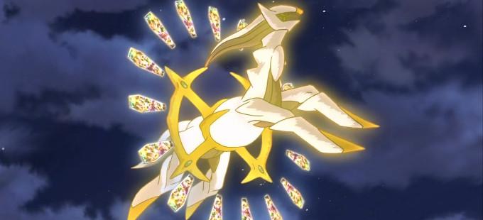 ¡El sagrado pokémon Arceus es nuestro regalo decembrino!