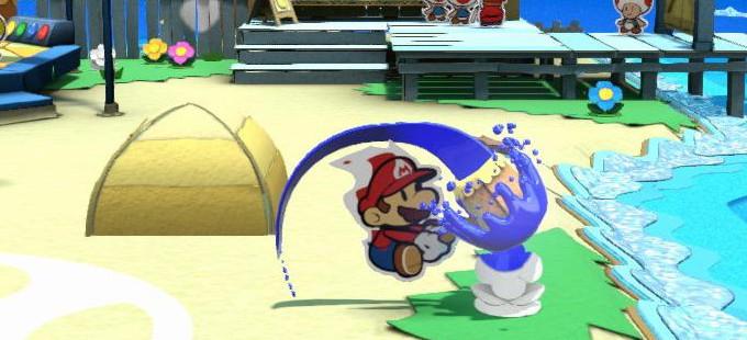 ¿De dónde salió la idea de la pintura en Paper Mario: Color Splash?
