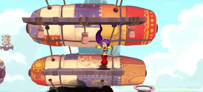 Disfruta el tráiler de lanzamiento de Shantae: Half-Genie Hero