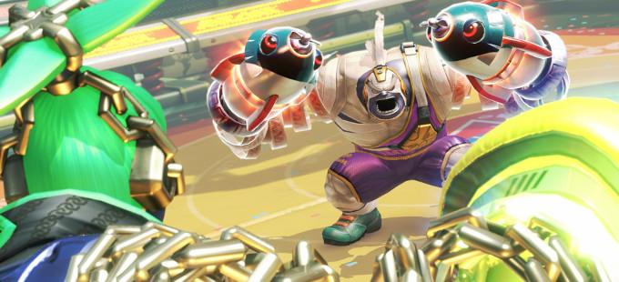 ¿Busca Nintendo promocionar ARMS para Nintendo Switch como un eSport?