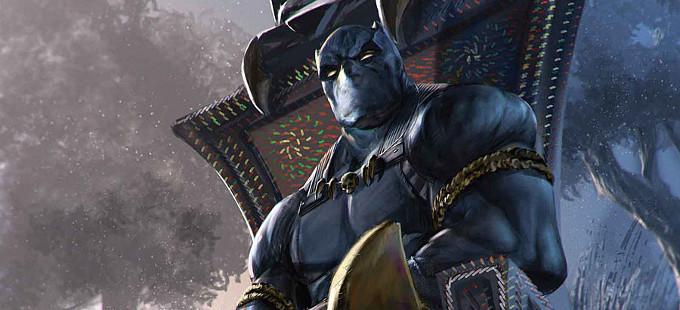 Marvel revela parte de la historia de Black Panther