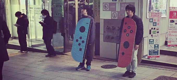 Las reservas del Nintendo Switch rebasan el 80% en Japón