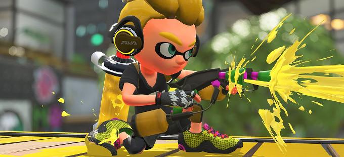 Más detalles de las armas de Splatoon 2 para Nintendo Switch