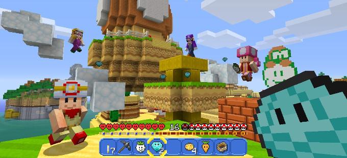 Primer vistazo a Minecraft Nintendo Switch Edition