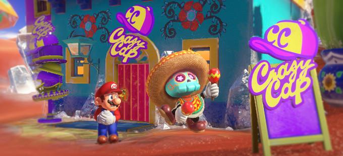 El desarrollo de Super Mario Odyssey avanza muy bien
