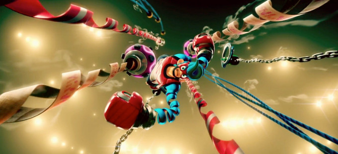Tomando nota de Smash Bros. con ARMS para Nintendo Switch