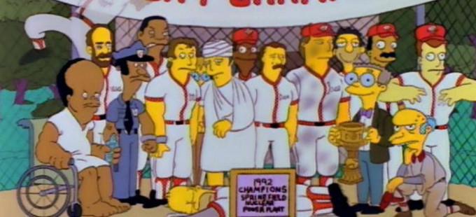 Salón de la Fama del Béisbol honrará a Los Simpson
