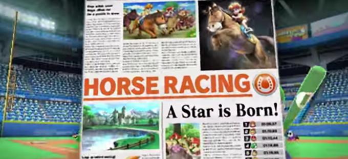 ¡Al galope con la equitación en Mario Sports Superstars!