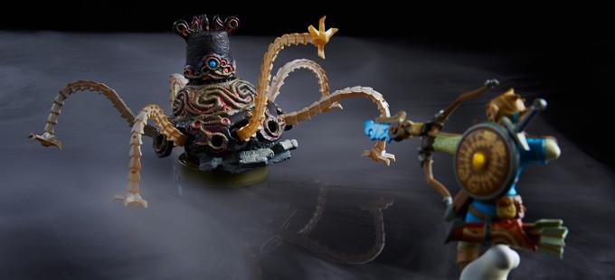 Nuevos amiibo en The Legend of Zelda: Breath of the Wild descubiertos