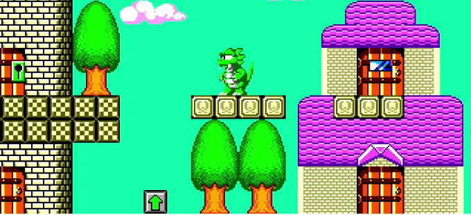 Wonder Boy: The Dragon's Trap para Nintendo Switch y su modo retro 8-bit