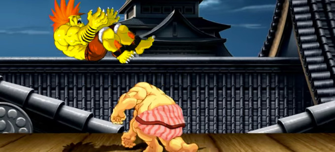 Ultra Street Fighter II para Nintendo Switch tiene controles táctiles