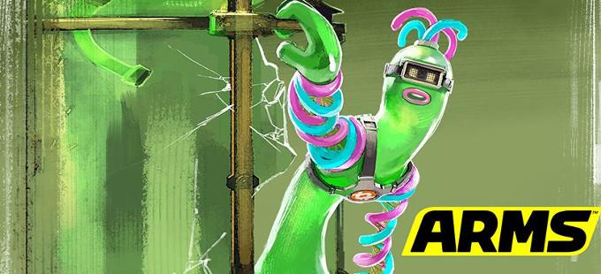 Helix es el nuevo peleador de ARMS para Nintendo Switch