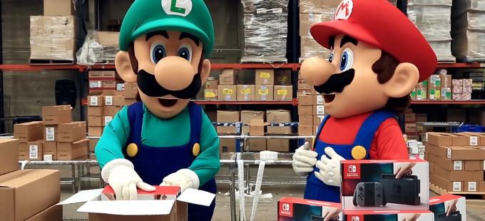 Casi un millón de Nintendo Switch vendidos en EE. UU. en marzo