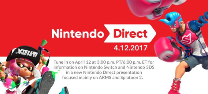 Mira el Nintendo Direct de Splatoon 2 y ARMS en Universo Nintendo