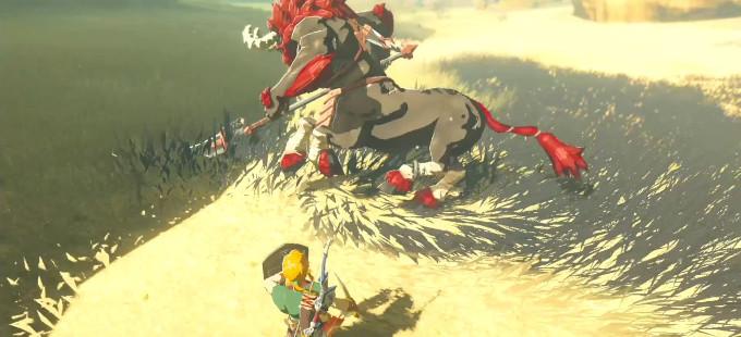 Cuando los enemigos se enfrentan en The Legend of Zelda: Breath of the Wild?