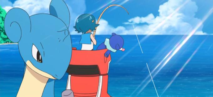 ¡A pescar en la nueva Global Mission de Pokémon Sun & Moon!