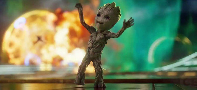 ¿Son Groot y Baby Groot el mismo en Guardians of the Galaxy Vol. 2?