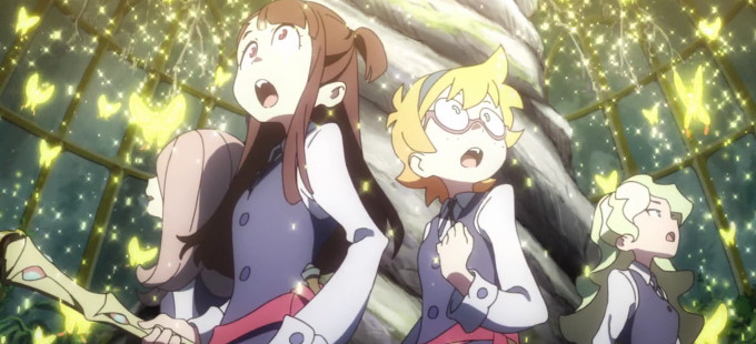 Little Witch Academia llega a Netflix en junio