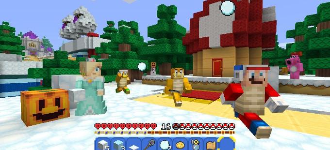 Minecraft Nintendo Switch Edition necesita dos controles Joy-Con