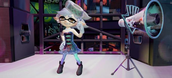 Marie visita a sus padres en Splatoon 2 para Nintendo Switch