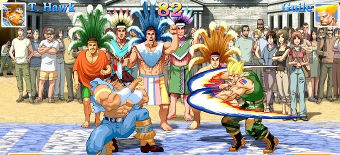 ¿Dónde quedaron mis barriles en Ultra Street Fighter II para Nintendo Switch?