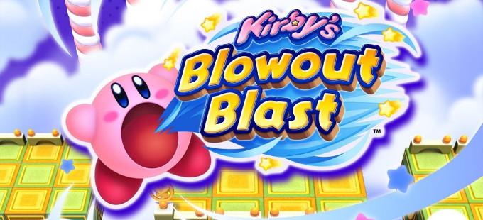 Kirby's Blowout Blast para la eShop ya tiene fecha