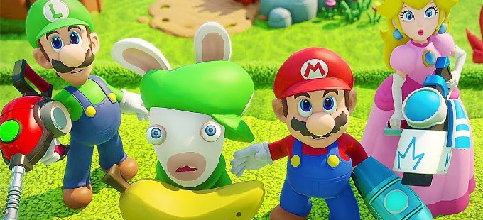 Just Dance llevó a Mario + Rabbids: Kingdom Battle para Nintendo Switch