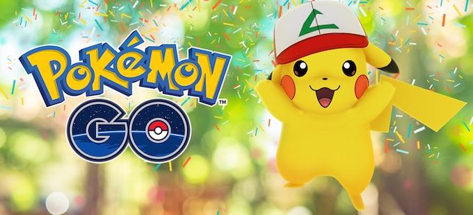 ¡Celebra el primer aniversario de Pokémon GO con Pikachu!