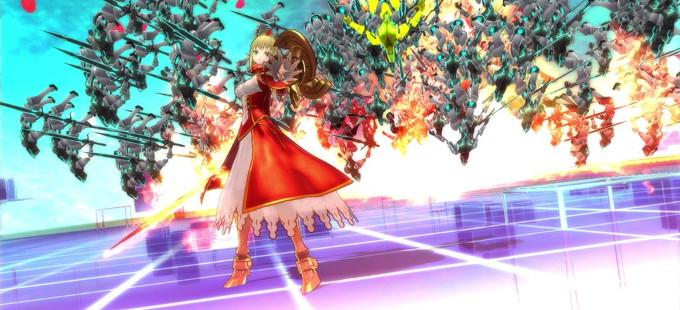 Fate/EXTELLA para Nintendo Switch estrena tráiler de lanzamiento