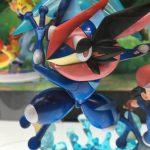 Greninja de la nueva figura de Pokémon XY & Z de G.E.M de MegaHouse