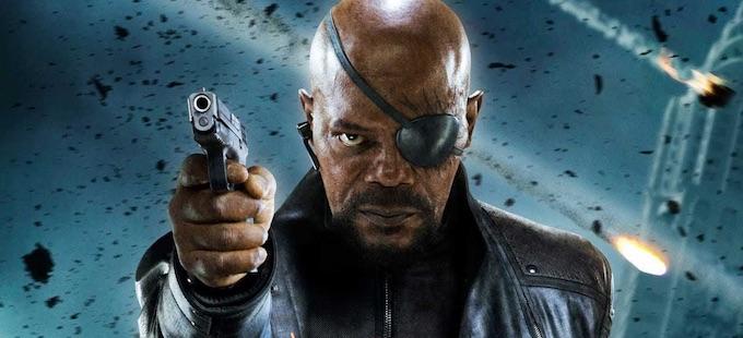 Nick Fury podría ser coprotagonista en Captain Marvel