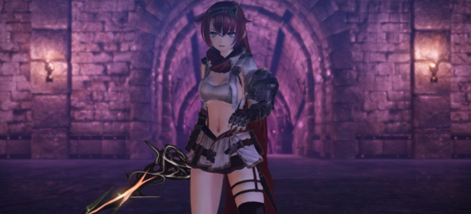 Un vistazo a las cinemáticas de Nights of Azure 2 para Nintendo Switch