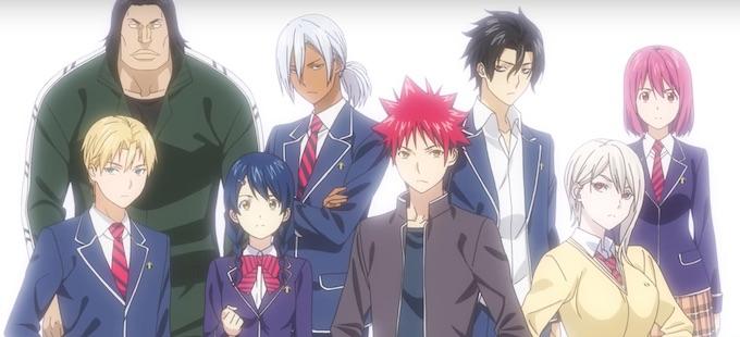 Primer avance de la tercera temporada de Food Wars! Shokugeki no Soma