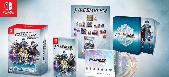 Conoce la Fire Emblem Warriors Special Edition para Nintendo Switch