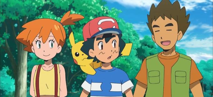 Mira el primer tráiler de Misty y Brock en el anime de Pokémon Sun & Moon!