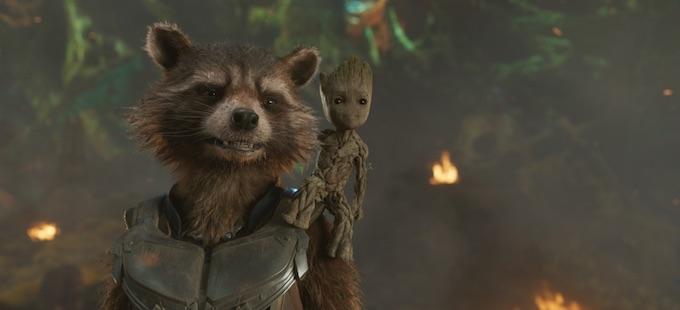 Una de las escenas extra de GotG Vol. 2, relacionadas a Avengers: Infinity War