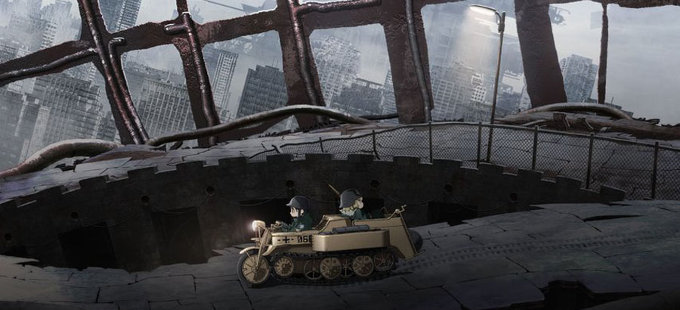 El anime de Shōjo Shūmatsu Ryokō debuta en octubre