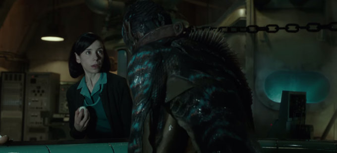 No, Abe Sapien no está en The Shape of Water