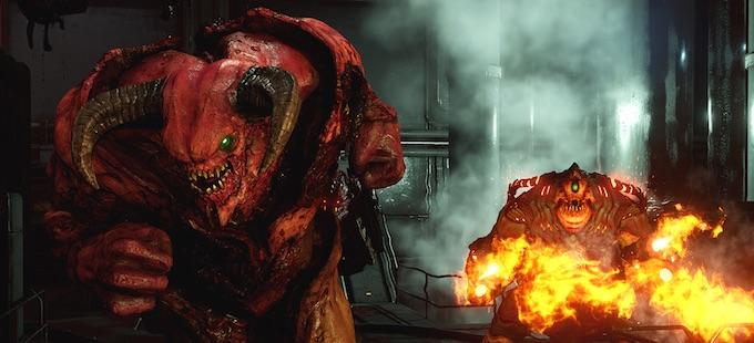 Doom para Nintendo Switch cabe en una tarjeta de 16GB