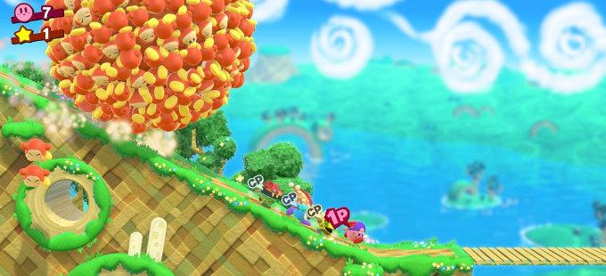 Kirby Star Allies para Nintendo Switch sale en primavera